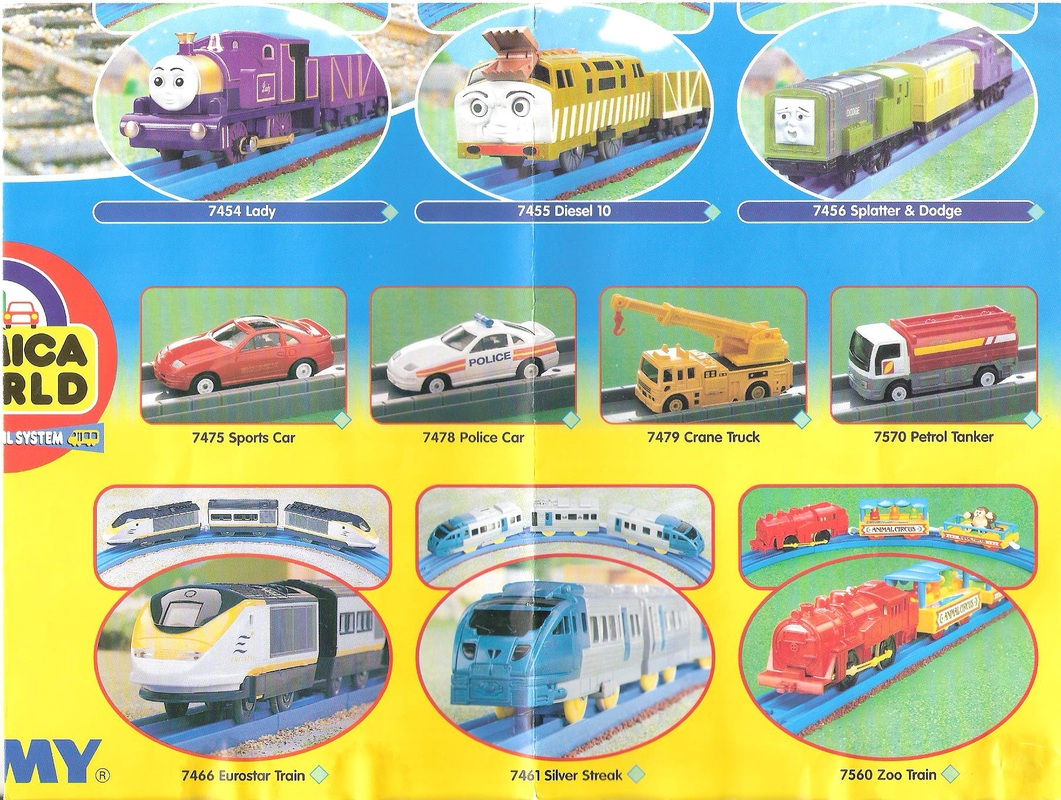 tomy train track instructions